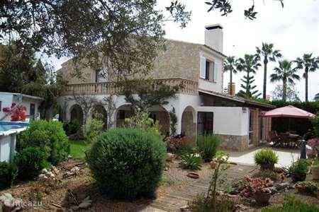 Vakantiehuis Spanje, Mallorca, Sa Coma villa Les Oliveres - Mallorca