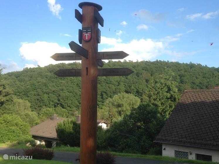 Even genieten van het uitzicht over Uersfeld