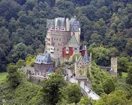 Burg Eltz, een prachtig kasteel, tot voor kort nog bewoond en in originele staat. Een bezienswaardigheid!
