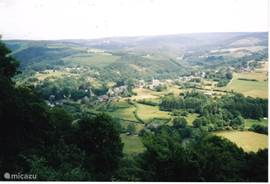 Wonderful view over the valley of the Ourthe (Chapel of St. Thibaud)