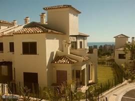 Villa Alegria, Costa Blanca, Finestrat Spanje - Uitzicht vanaf het zwembad
