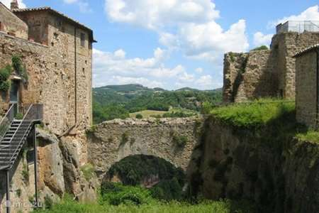 Vacation rental Italy, Tuscany, Sorano apartment Panoramica in Toscane