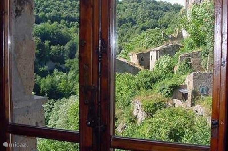 Vakantiehuis Italië, Toscane, Sorano Appartement Panoramica in Toscane