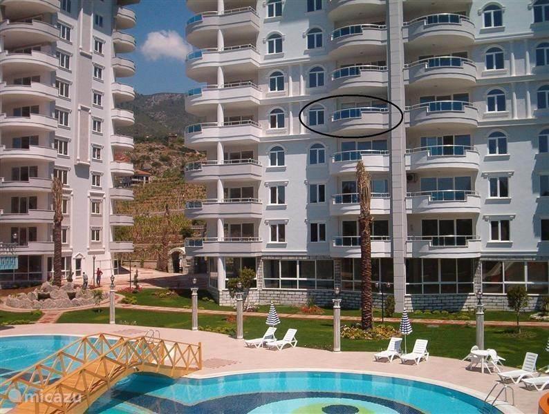 Vacation rental Turkey, Turkish Riviera, Alanya apartment Petteflet