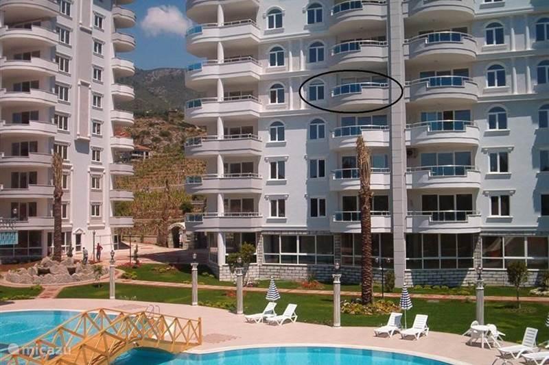 Vakantiehuis Turkije, Turkse Rivièra, Alanya Appartement Petteflet