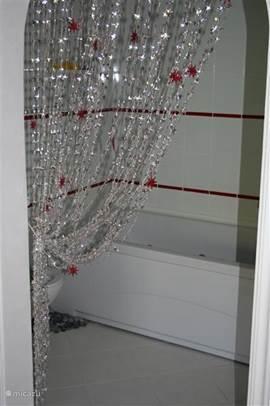 Badkamer 1 met jacuzzi