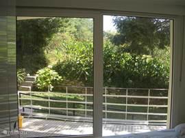Uitzicht van de Slaapkamer aan de achterzijde