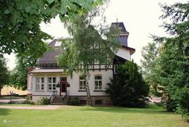 Very large, lively and characteristic villa in the Harz.