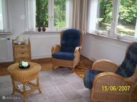 kamer met gezellige zithoekjes