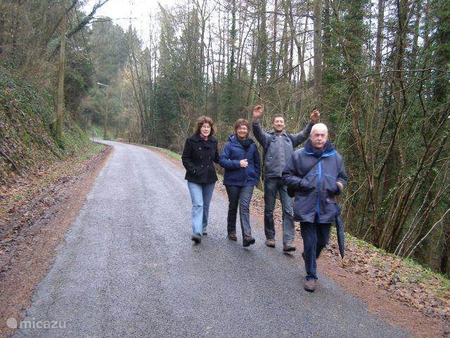 Walking to the Ourthe