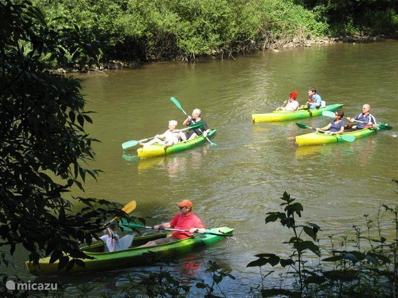 Canoe trips on the Ourthe
