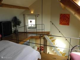 Slaapkamer op de vide