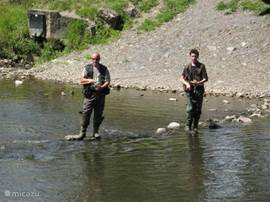 Fishing in the Ourthe