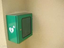 Onze vakantievilla is hartsafe! Een AED is aanwezig.