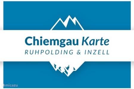 Chiemgau Karte | Ruhpolding & Inzell