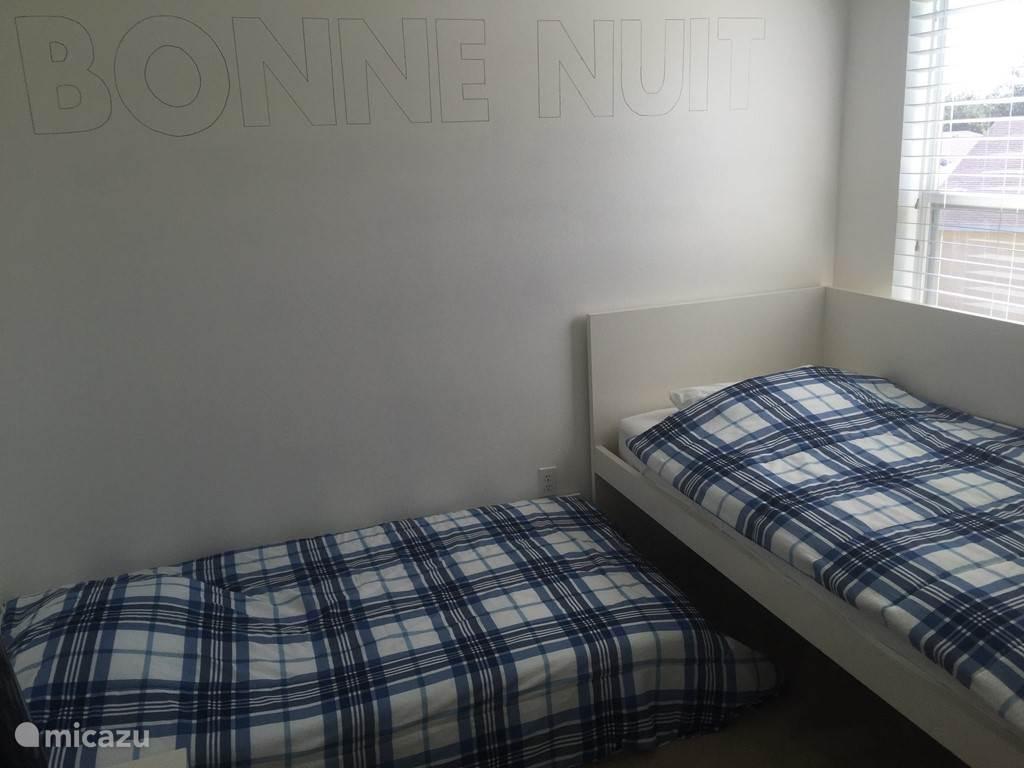 Bonne Nuit slaapkamer, 2 eenpersoonsbedden