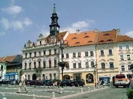 Marktplein van Ceska Lipa, een van de vele andere pitoreske plaatsjes in de omgeving