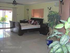 Master Bedroom 1. Very spacious, overlooking pool and ocean. From bed ..