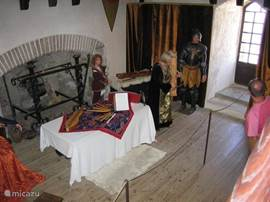 Musical performance at Chateau Mauvezin