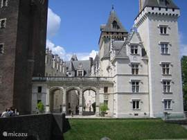 Chateau in Pau, 'n rondleiding in dit kasteel is een must