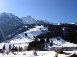 Uitzicht op Mont de Grange