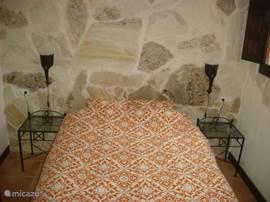 Casita Dito; slaapkamer in rustieke stijl.