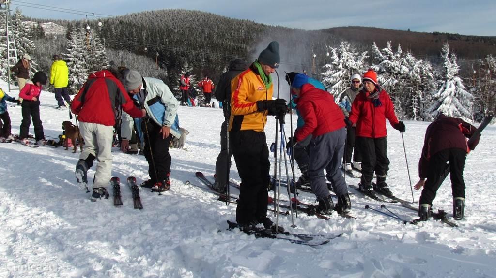 Skifahren in Nose Astenberg