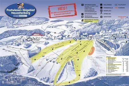 Parkeren bij de ski-lift