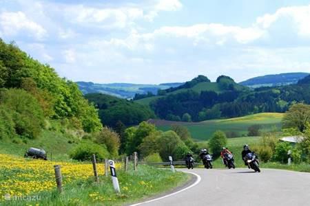 Motorrijden in het Sauerland