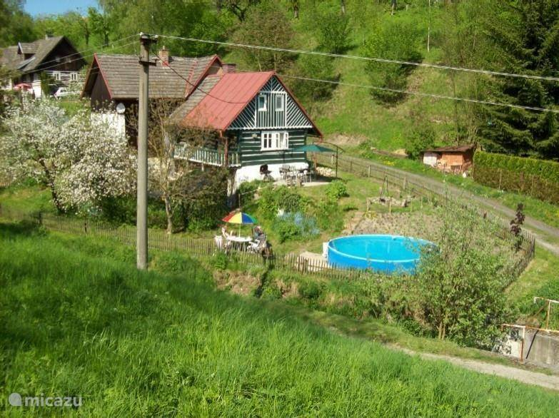 Vacation rental Czech Republic, North Bohemia, Sobeslavice Holiday house Pták dum