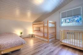 Slaapkamer 3 bovenwoning