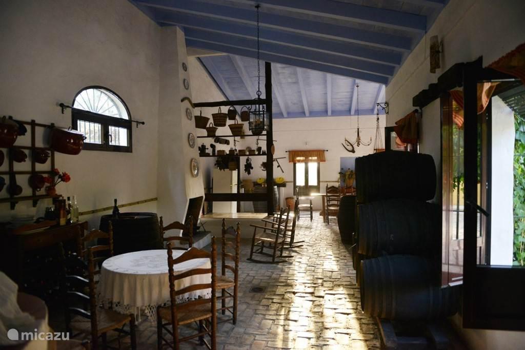 de bodega, het wijnhuis