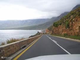 prachtige wegen van noord naar zuid en van oost naar west