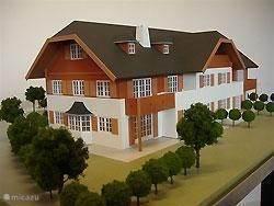Maquette appartementencomplex