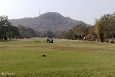 golfen en waterpark