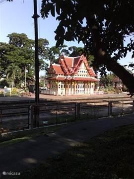 het oude station van hua hin