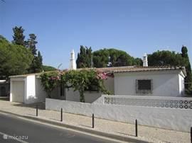 Casa Diolores ligt aan een rustig doodlopend straatje vlakbij het strand.Via een trap aan het eind van het straatje kom je op het prachtige strand Praia Maria Luisa.