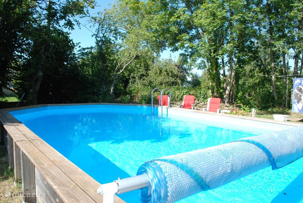 privé zwembad 8,75 x 5,5private