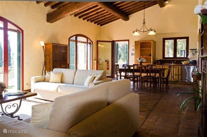 Vakantiehuis Italië, Toscane, Mercatale in Val di Pesa Appartement Atelier 1