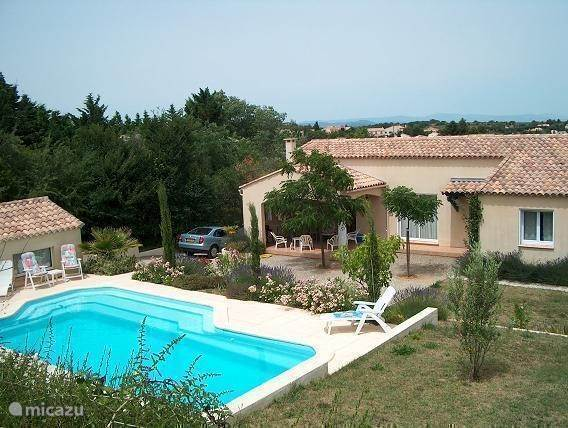 Vacation rental France, Languedoc-Roussillon, Tourbes Villa L'Amandier