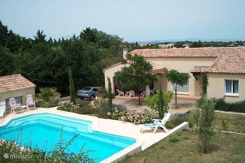 Vakantiehuis Frankrijk, Hérault, Tourbes Villa L'Amandier