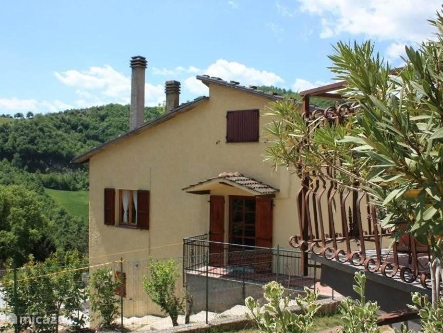 Vakantiehuis Italië, Umbrië, Pietralunga - vakantiehuis Casa La Valle