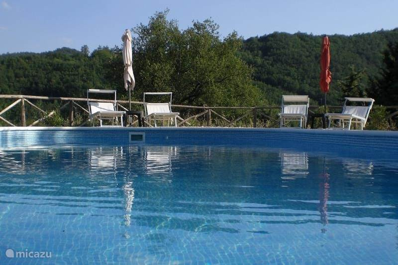 Vakantiehuis Italië, Umbrië, Pietralunga Vakantiehuis Casa La Valle