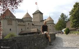 Beroemde kastelen: Chateau Chillon