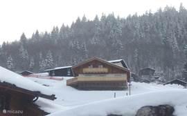 Chalet Panaramix in de winter