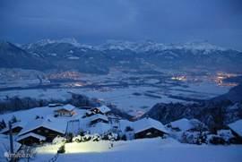 Uitzicht over het Rhônedal.