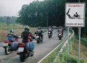 mooie motorritten in de omgeving