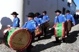 Muziek tijdens het Festa do Castanheiro in Marvão