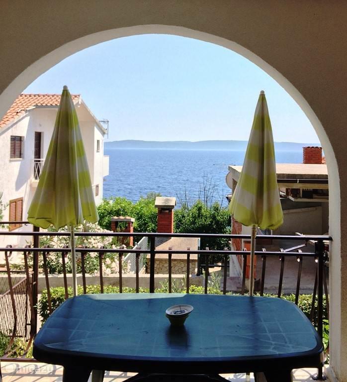 Vakantiehuis Kroatië, Dalmatië, Okrug Gornji Appartement Appartement Komduur A0  ***