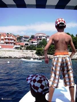 Boottocht rondom Ciovo